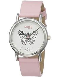 Gully by Timex Linked Analog White Dial Women's Watch-TW000U609