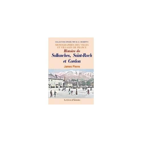 Histoire de Sallanches, Saint-Roch et Cordon