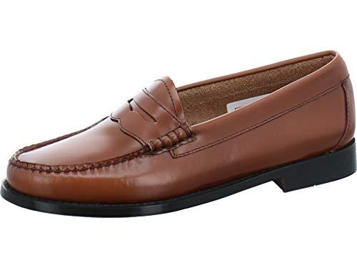 G.H. Bass & Co. Damen Penny Slipper, Braun (Cognac Leather 0cg), 39 EU Bass Loafers Men