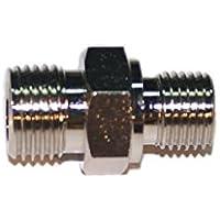 """METALSUB Conector Rosca Bauer/LW A 1/4"""" BSP, Macho-Macho Acero"""
