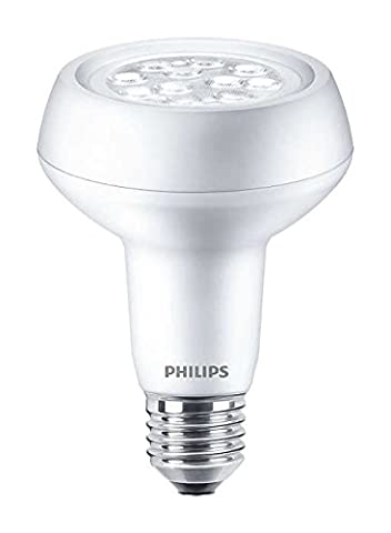 Philips Corepro LED 3.7 W (60 W) E27 Edison Screw, R80 Reflector Spot Light, Warm White, 40 Degree Beam Angle, Non Dimmable, Frosted, Halogen Replacement