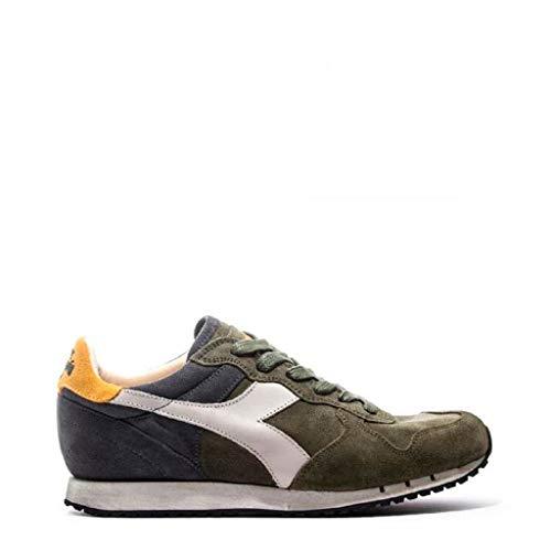 Sneaker Diadora Sneakers Uomo DIADORA verde blu giallo trident s sw