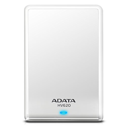 Adata HV620 1TB External Hard Disk White Price in India