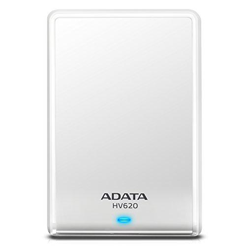 Adata AHV620-2TU3-CWH 2TB External Hard Disk (White)