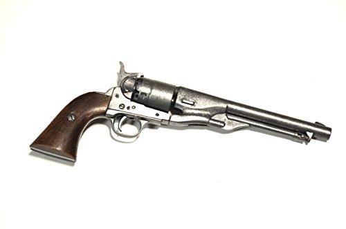 Navy modello 1861Colt Navy 1861il secondo modello Navy calibro .36avancierte presto uno dei beliebteren Modelle in guerra di secessione (su entrambi i lati). L' arma è spesso anche come New Model Navy Revolver definito. Il design del laufes è stat...