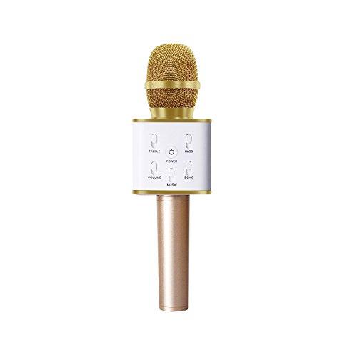 MAVIE Tragbare Drahtlose Bluetooth Mikrofon Karaoke Player für Intelligente Handy iPhone und Android oder PC mit USB