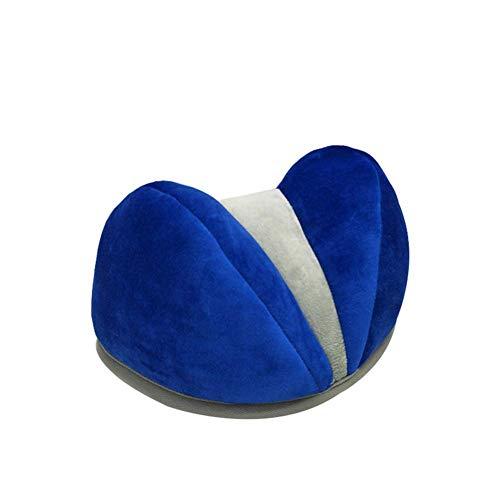 Memory Foam-Nackenkissen - Contour Care-Kissen Sleeper Orthopaedic, Reisekissen, Memory Foam-Nackenkissen, Bequemes Tragbares Nackenkopf-Stützkissen,Blue (Tragbare Stuhl Unterstützt Den Rücken)