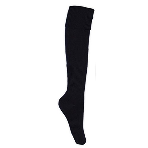 Men Boys Knee High Football Rugby Sports Socks UK Size 6-11 3-6 in 7 Colours