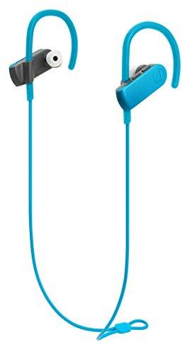 Audio-Technica ATH-SPORT50BTBL Wireless Bluetooth Connection Earbuds Headphone - Blue
