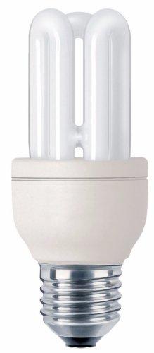 Philips Genie 8W E278W E27A Warm White Fluorescent Bulb-Fluorescent Bulbs (8W, E27, 435lm, warm white, 10000h, 2700K) -