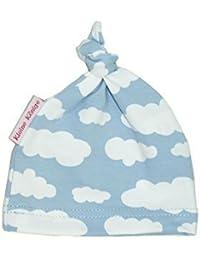 Mütze für Kinder und Babys Knotenmütze Wolkenreich hellblau von Kleine Könige