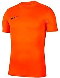 NIKE Y Nk Dry Park VII JSY SS Camiseta de Manga Corta, Unisex niños, Safety Orange/Black, M