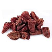 Berries And Nuts Naturally Dehydrated Strawberries (Unsweetened, Naturally Sweet, Without Added Sugar) (1 Kg)