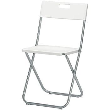 """Résultat de recherche d'images pour """"chaise pliante ikea noire et blanc"""""""