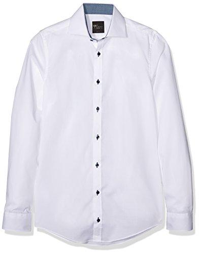 Venti 162434300, Chemisier Business Homme Blanc - Weiß (Weiß 000)