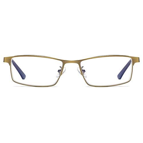 Rziioo Lesebrille Automatischer Zoom Weit Und Nah Dual-Use Anti-Blau Multi-Fokus-Photochromic-Brille,1.50