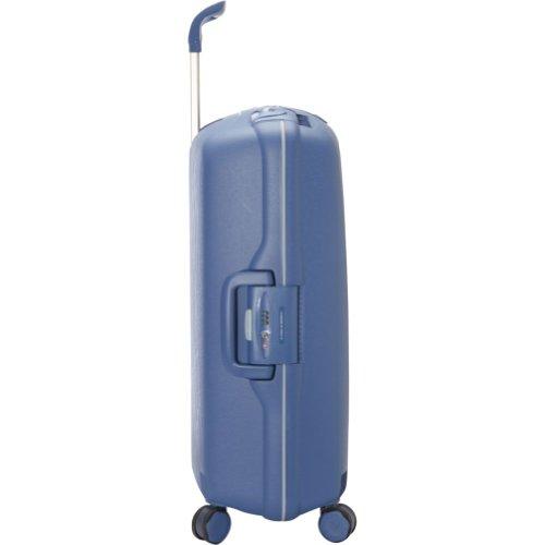 RONCATO LIGHT 500711 : valise polypropylène 4 roues, 75 cm / 90 litres - 75, ROUGE VIOLET 19 rosso