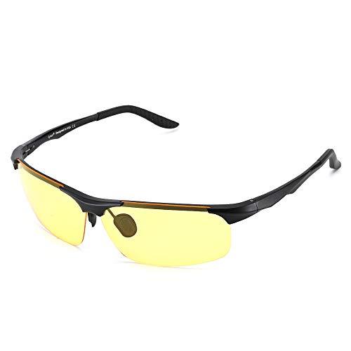 Cyxus Gaming Brille mit Blaulichtfilter - Computerbrille für Gamer, Anti Müdigkeit, Anti Blaulicht, UV-Schutz, 3 Farben Linse (Transparent, Gelb, Rot)