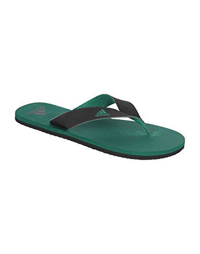 Adidas Men's Corgrn and Black Hawaii Thong Sandals - 10 UK/India (44.67 EU)  available at amazon for Rs.679