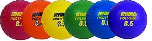 Champion Sports Rhino Poly Spielplatz Ball Set, Multi, 8.5-Inch Diameter -