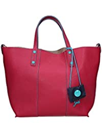 Borsa E17 Shopping Pelle Lady Laminato Vera GABS Handbags Dola Bustino Dollaro 4w5tORTqc