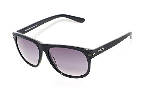 rainbow safety Herren Sonnenbrille MED Limitierte Edition UV400 Schutz O1009-BK2