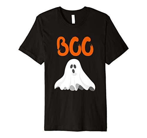 Cute Halloween Boo Shirt Mädchen Jungen Kids Toddler GHOST Tee