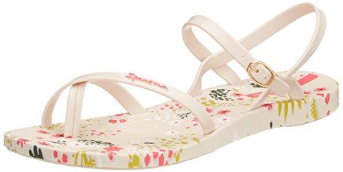 Ipanema Damen Fashion Sand VI FEM Slingback Sandalen, Mehrfarbig Beige 8778, 40 EU