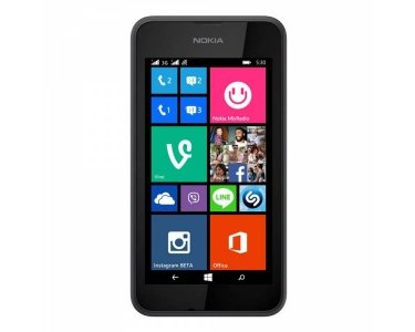 Nokia Lumia 530 Smartphone (10,2 cm (4 Zoll), Single-SIM, 1,2GHz Snapdragon Quad-Core Prozessor, 512MB RAM, 5 Megapixel Kamera, Bluetooth, USB 2.0, Win 8) dark grey 2. Generation 4gb Mp3-player