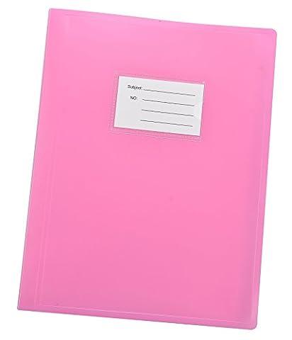 Arpan 100 pochettes A4 200/côtés-documents Chemise de présentation souple Housse Coque Portefeuille rose