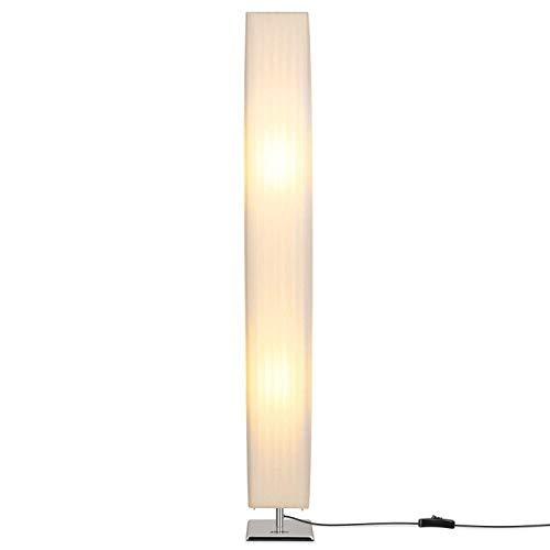 Schlafzimmer-zeitgenössische-sofa (SXM777 Kreative LED-Stehlampe, 46-Zoll-hohe minimalistische Moderne minimalistische Stehlampe mit Stoffschirm, zeitgenössisches Wohnzimmer-Sofa Stehlampen für Schlafzimmer, Schlafsaal, Büro)