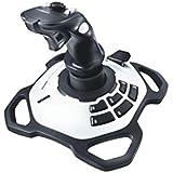 Logitech Extreme 3D Pro Gaming Joystick (White/Black)