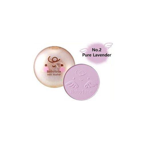 (3 Pack) ITS SKIN Babyface Petit Blusher #02 Pure Lavender