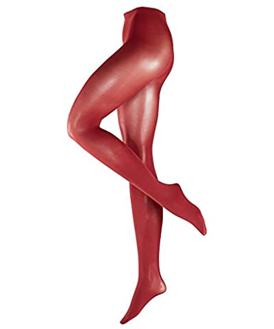 FALKE Damen Strumpfhose Pure Matt, 50 Den, Rot (Cayenne 5950), 42 (Herstellergröße: M-L)