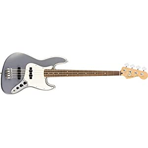 Fender Player Jazz Bass?, Pau Ferro Fingerboard, Silver