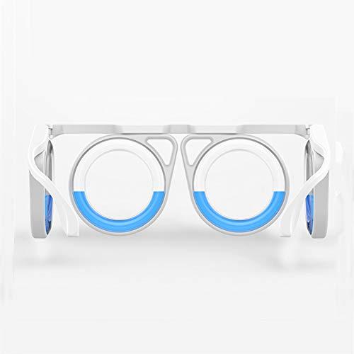 Mary Fast Shop MFS Die zweite Generation der verbesserten Anti-Sport-Brille, die gegen die Seekrankheit gerichtet ist. Abnehmbare, klappbare Anti-Motion-Sickness-Brille mit Flüssigkeit für Kinder