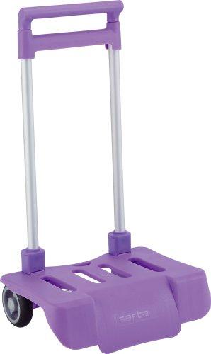Safta–portamochilas pieghevole per carrello, colore: viola, 641081605)