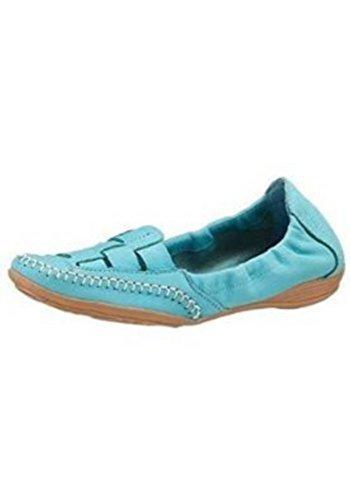 Pantofola Donna in pelle di Eddie Costruttore Turchese