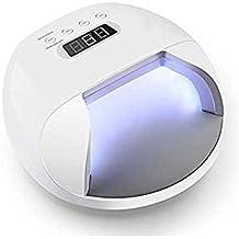 La máquina de tratamiento de luz de clavo llevó una lámpara de fototerapia con una batería de clavos de 48W.
