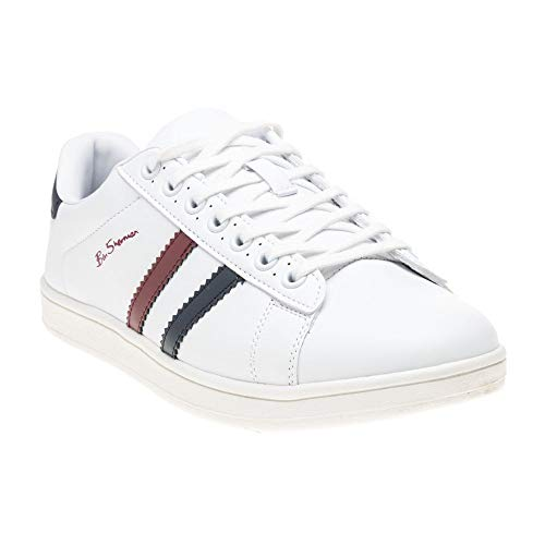 Ben Sherman Gustavo Herren Sneaker Weiß