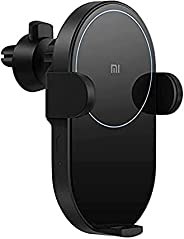 Xiaomi WCJ02ZM Wireless Car Charger - 20W Max Power Inductive Electric Clamp Arm Double Heat Dissipation 2.5D