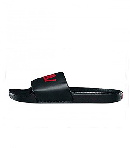 Vans unisex dane reynolds synthetic leather slide black/red-black-9 size 9