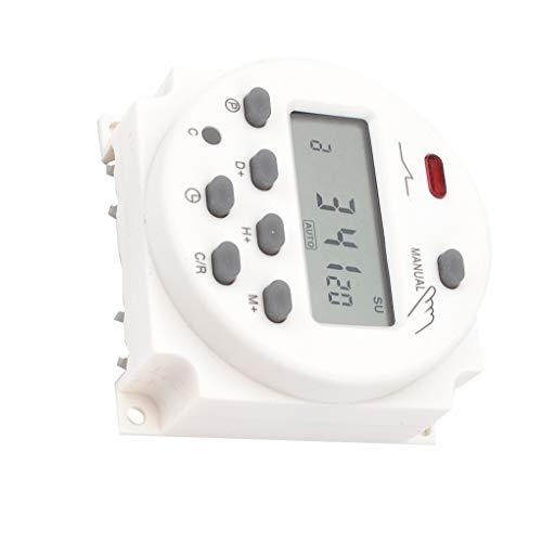 fish 12V / 24V / 110V / 220V Digital LCD-Anzeigezeit Schalter Wand Wöchentlicher programmierbaren elektronischen Timer - Digital-wand-schalter Timer