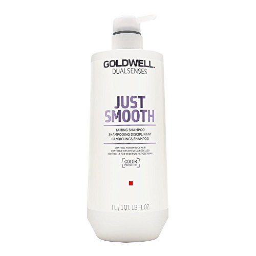 Goldwell Dualsenses Just Smooth Taming Shampoo, 1er Pack (1 x 1 l) -