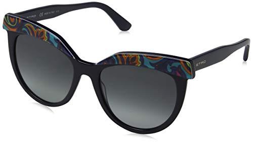 Etro Damen ET647S 439 54 Sonnenbrille, Turquoise Paisley, - Etro Damen Bekleidung