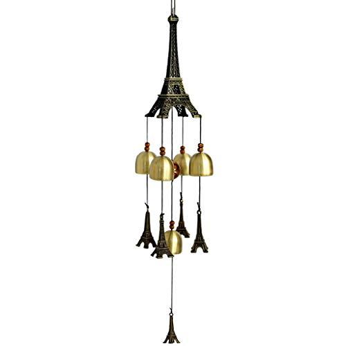 Eiffelturm Kreative Modell Metall Windspiel Hängende Tür Dekoration Tanabata Anhänger -