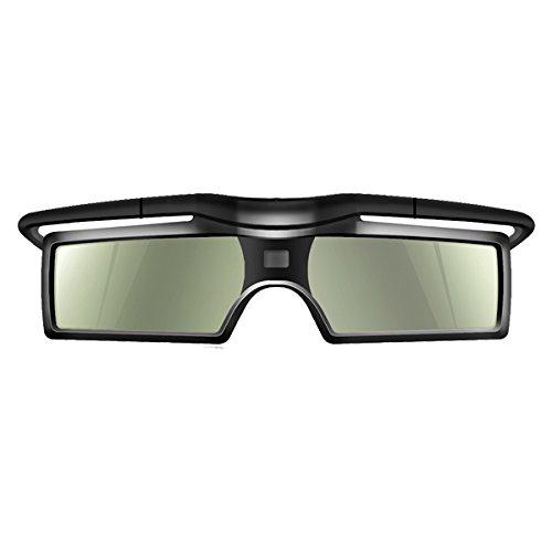 Andoer® G15-DLP 3D Gafas con Obturador Activo 96-144Hz para LG/BENQ/ACER/SHARP DLP 3D Proyector