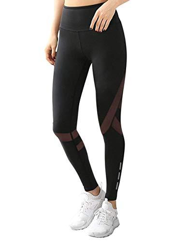 Mallas Deportivas Mujer Leggins Yoga Pantalon Elastico...
