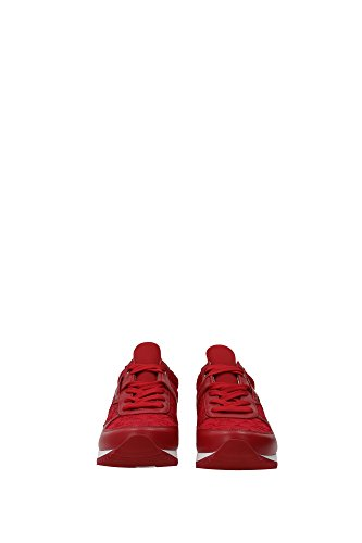CK0003AR64680303 Dolce&Gabbana Sneakers Femme Cuir Rouge Rouge