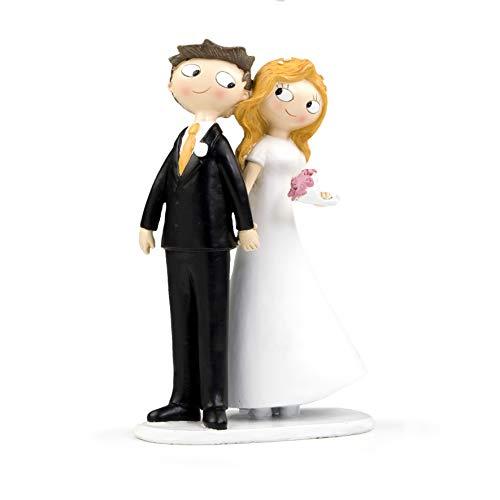 Mopec Pop & Fun - Figura tarta boda pareja novios